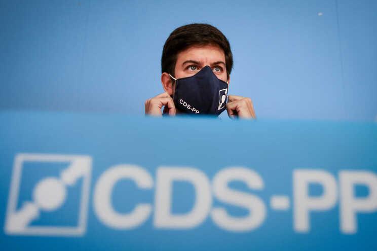 Presidente do CDS-PP, Francisco Rodrigues dos Santos