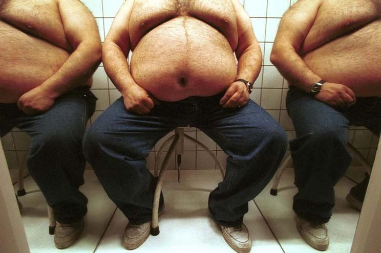 Estamos mais gordos. Há mais seis quilos por pessoa desde 1985