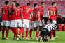 O Benfica venceu este sábado o Boavista