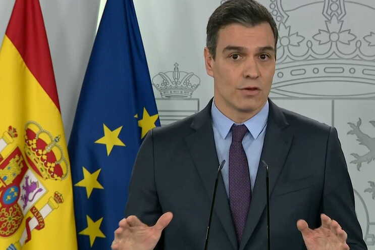 Primeiro-ministro espanhol, Pedro Sánchez