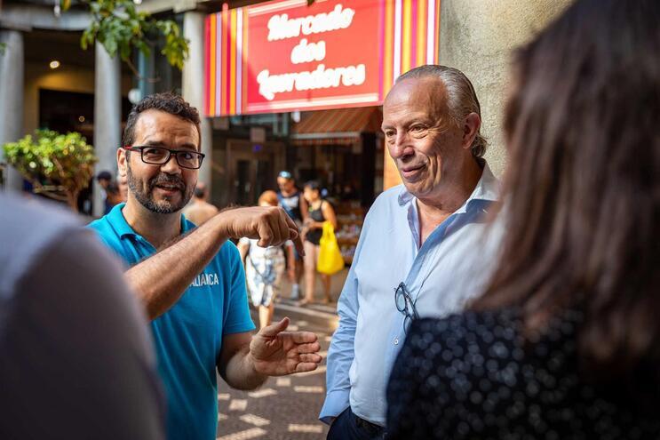 Pedro Santana Lopes otimista na eleição de dois deputados