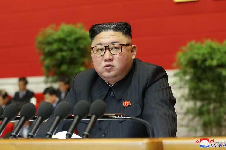O líder da Coreia do Norte, Kim Jong Un