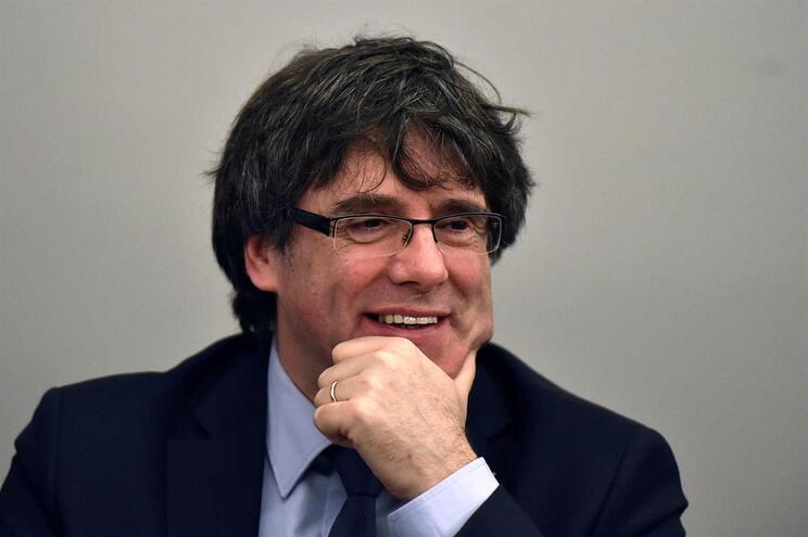 Ex-líder catalão, Carles Puigdemont