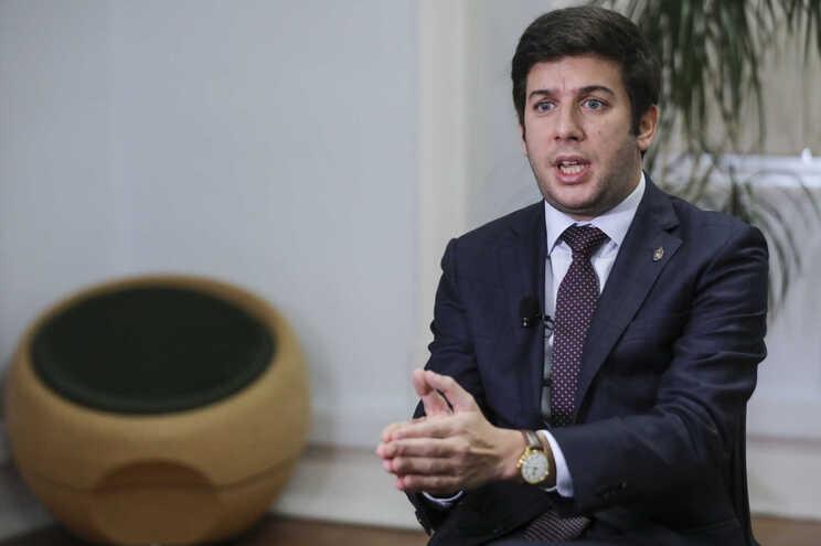 O presidente do CDS-PP, Francisco Rodrigues dos Santos