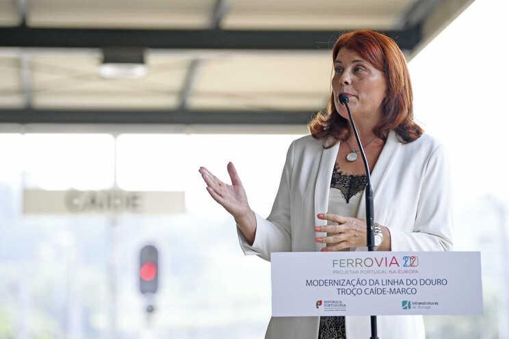 Cristina Vieira, atual presidente da Câmara do Marco de Canaveses
