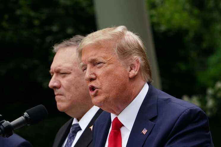 Trump lançou (mais uma vez) durante críticas à China