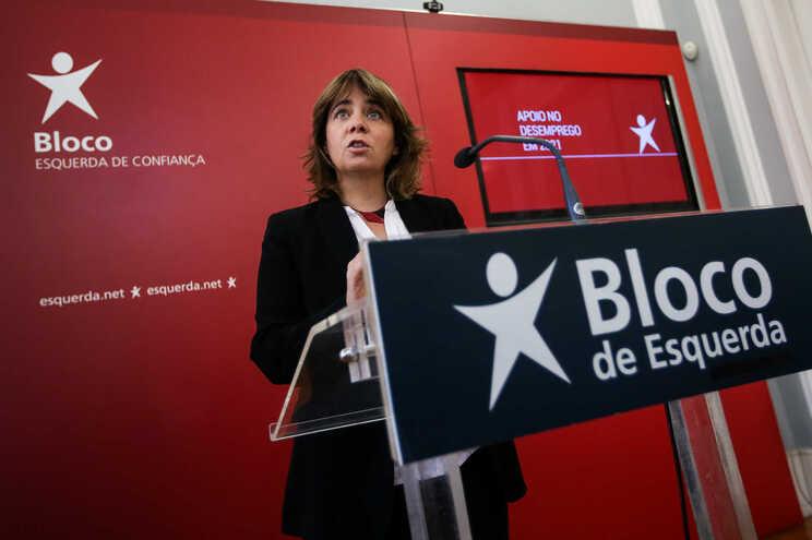 Catarina Martins, coordenadora nacional do Bloco de Esquerda