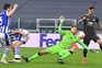 Bruno Fernandes marcou dois golos na vitória do Manchester United no recinto da Real Sociedad