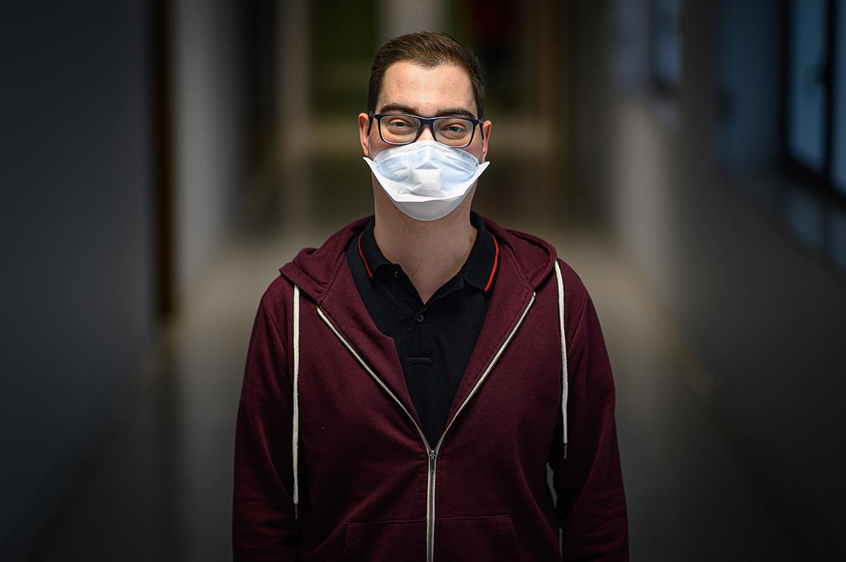 Frederico Coelho soube que havia um dador compatível depois de fazer oito ciclos de quimioterapia. Sem