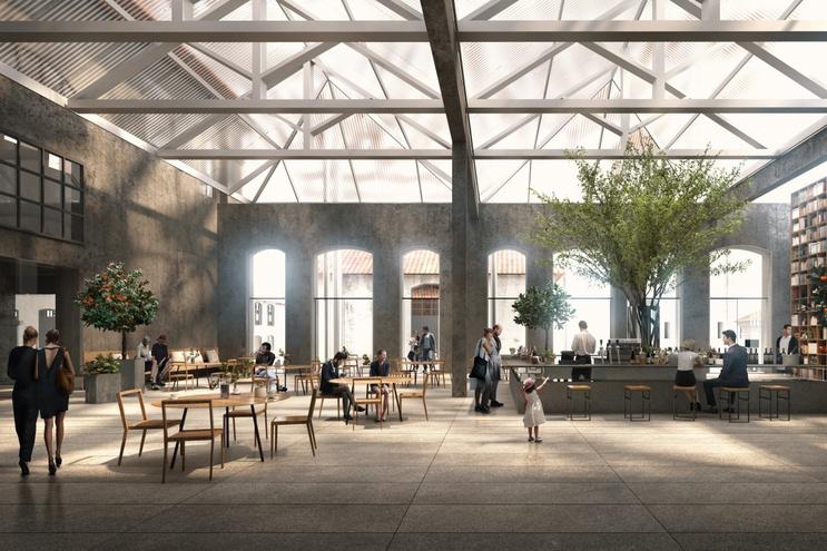 Projeto é da autoria do arquiteto japonês Kengo Kuma