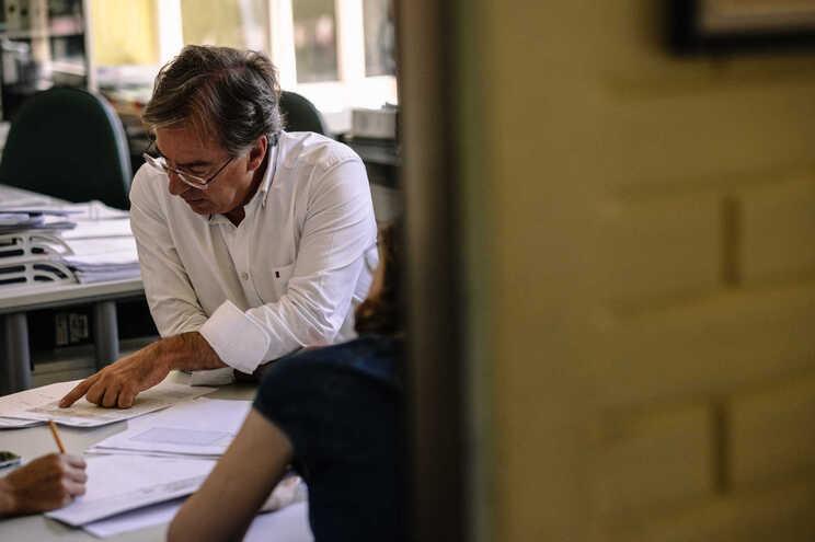 O presidente da Associação Nacional de Diretores de Agrupamentos e Escolas Públicas, Filinto Lima