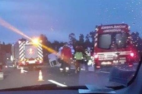 Nove trabalhadores feridos numa colisão em Paços de Ferreira