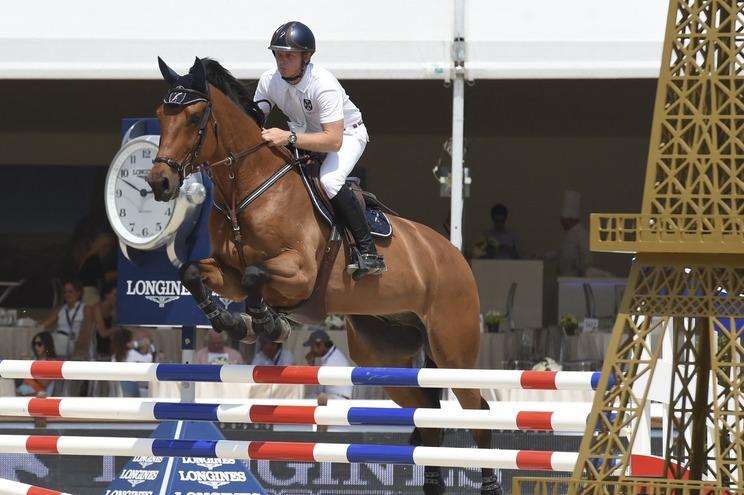 Jamier Kermond ia competir nos Jogos Olímpicos na prova de equitação