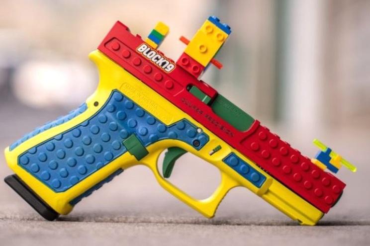 Block19, a arma que parece um brinquedo