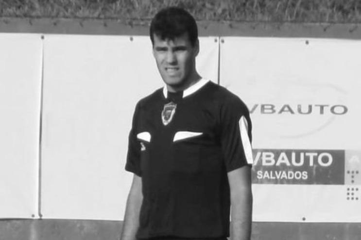 Árbitro de Barcelos Vítor Hugo Barbosa, de 32 anos