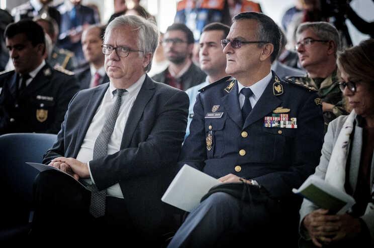 Eduardo Cabrita e Manuel Couto