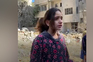 """""""Só tenho 10 anos"""", criança palestiniana em lágrimas durante entrevista"""