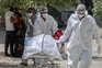 Índia com números trágicos da pandemia