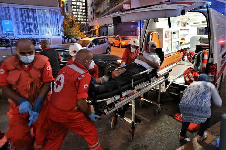 Governo sem registo de portugueses entre vítimas mortais em Beirute