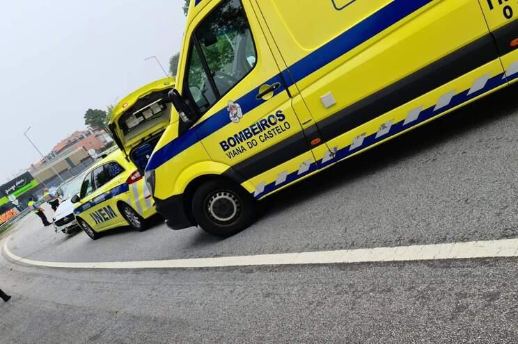 A vítima foi transportada para o hospital de Braga