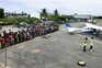 População está a ser retirada de Palma em voos humanitários