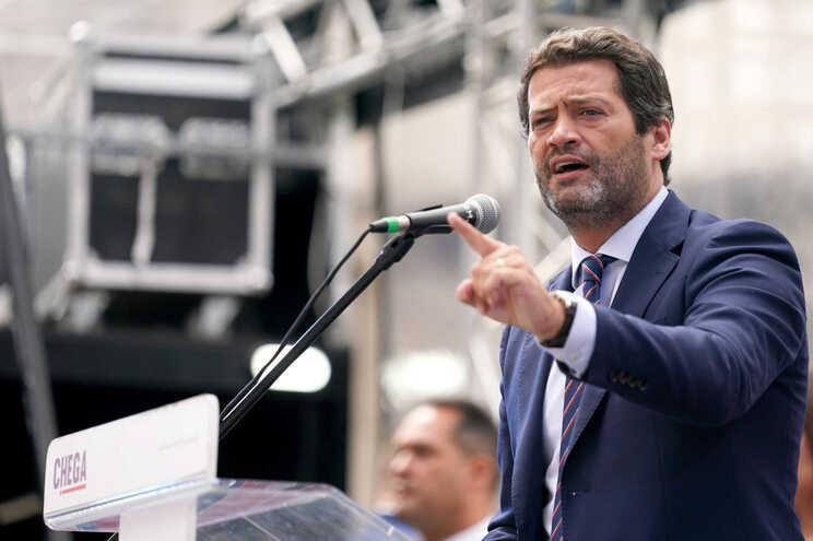 André Ventura, presidente do partido Chega