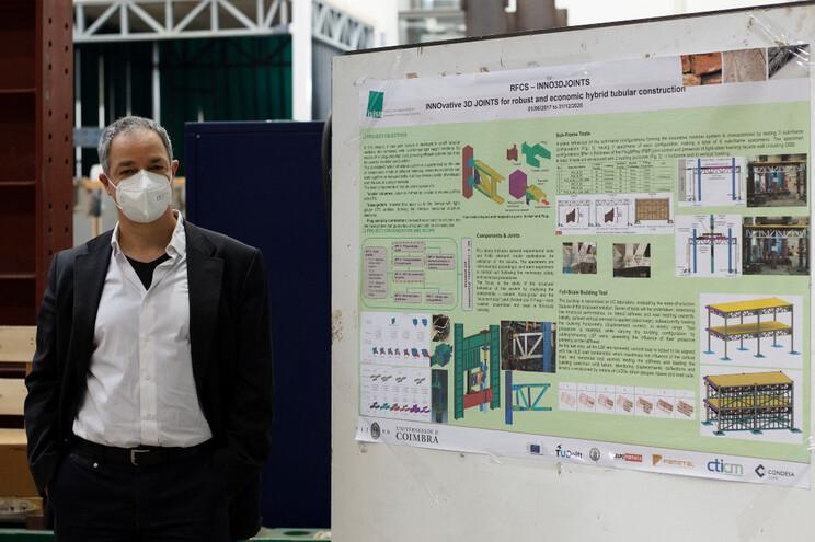 Luís Simões Silva, investigador do Departamento de Engenharia Civil da Universidade de Coimbra
