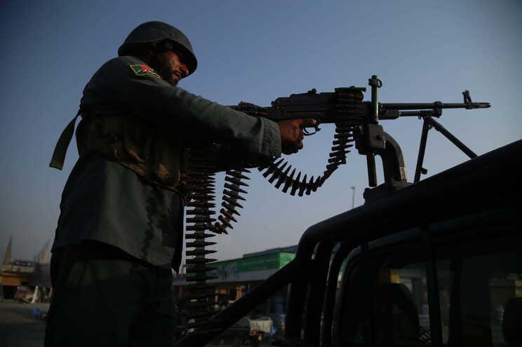 Militar afegão em Jalalabad