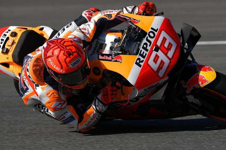 Marc Marquez sofre queda nos  treinos livres para GP de Espanha