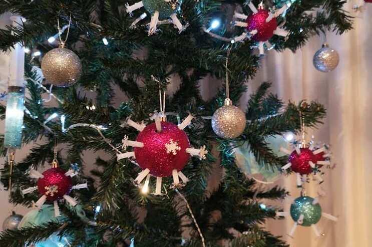 Sugestões para a árvore de Natal em tempo de covid-19