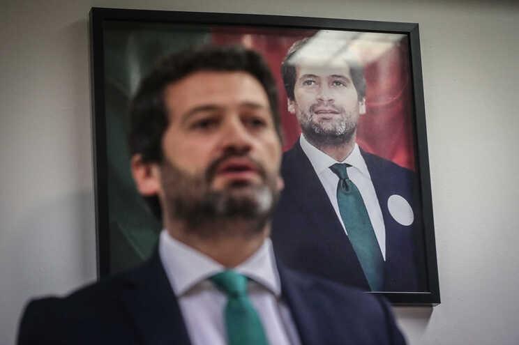 André Ventura, presidente do Chega