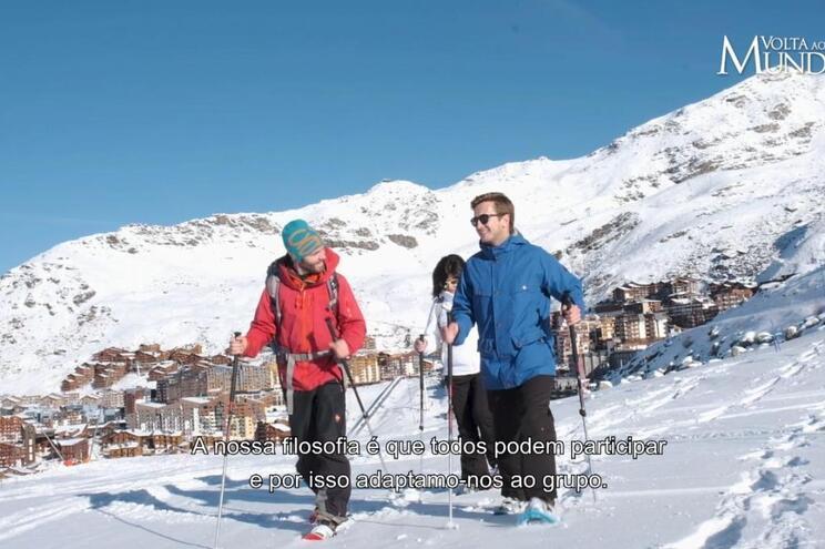O melhor da aventura da Volta ao Mundo em Val Thorens (Episódio 4 – RTP3)