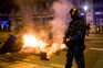 Confrontos nas ruas de Barcelona