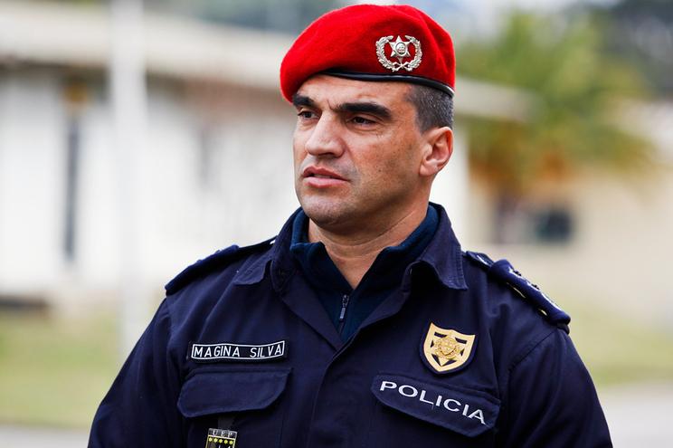 O novo diretor nacional da PSP,Manuel Augusto Magina da Silva