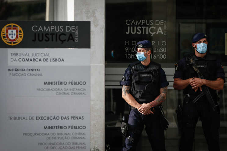 Julgamento decorre no Campus da Justiça, em Lisboa