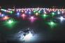Podem ser necessários dezenas ou centenas de drones para realizar um evento
