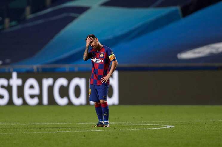 Messi parece decidido a sair do Barcelona