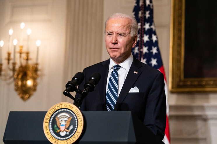 O presidente dos EUA, Joe Biden