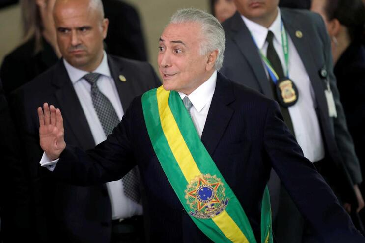 Ex-presidente do Brasil Michel Temer foi detido