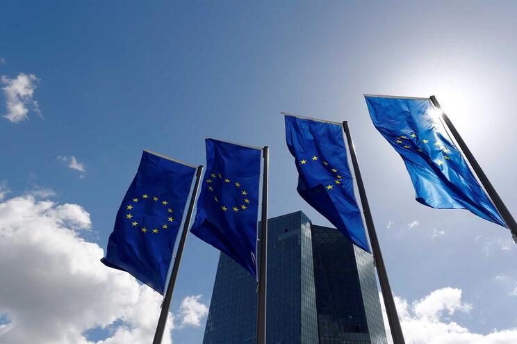 Sede do BCE em Frankfurt, na Alemanha
