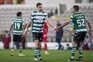 Gil Vicente e Sporting defrontaram-se esta terça-feira