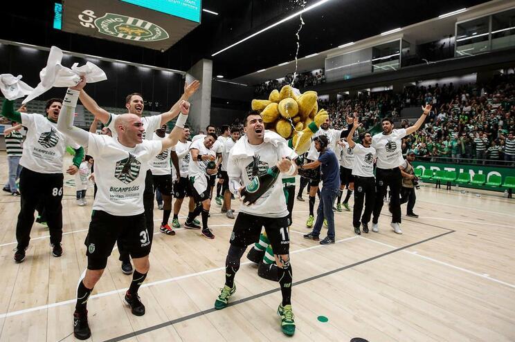 Sporting venceu segundo campeonato de andebol consecutivo