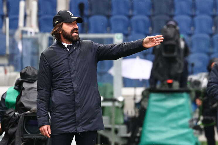 Andrea Pirlo, treinador da Juventus