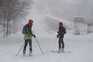 A neve não deixa de cair desde sexta-feira, provocando graves problemas na capital espanhola