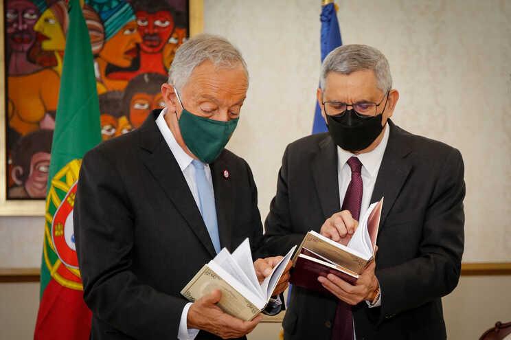 Marcelo Rebelo de Sousa e Jorge Carlos Fonseca, chefe de Estado cabo-verdiano