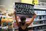 Mensagens de protesto no Rio de Janeiro