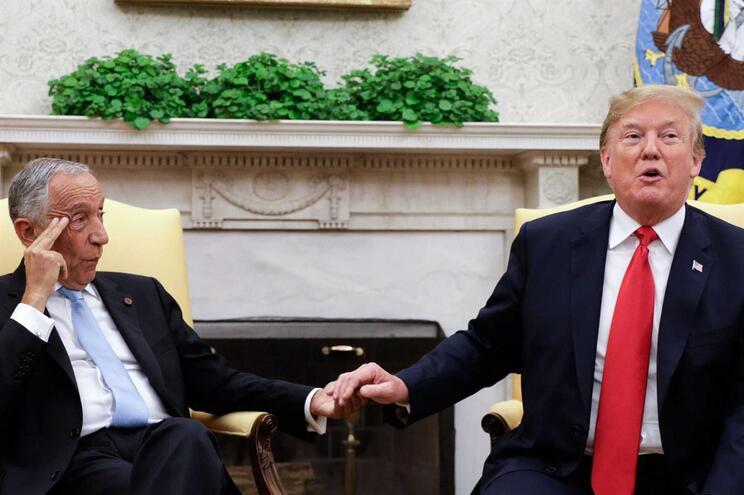 Marcelo Rebelo de Sousa esteve em visita em Washington na semana passada e foi recebido na Casa Branca