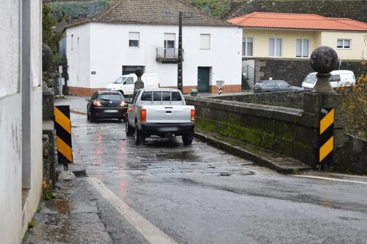 Ponte do Carrapatelo em Mesão Frio fecha um mês à circulação automóvel