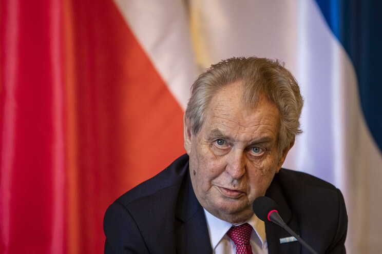 Presidente checo, Milos Zeman