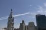 EUA agradecem a profissionais de saúde com demonstração aérea